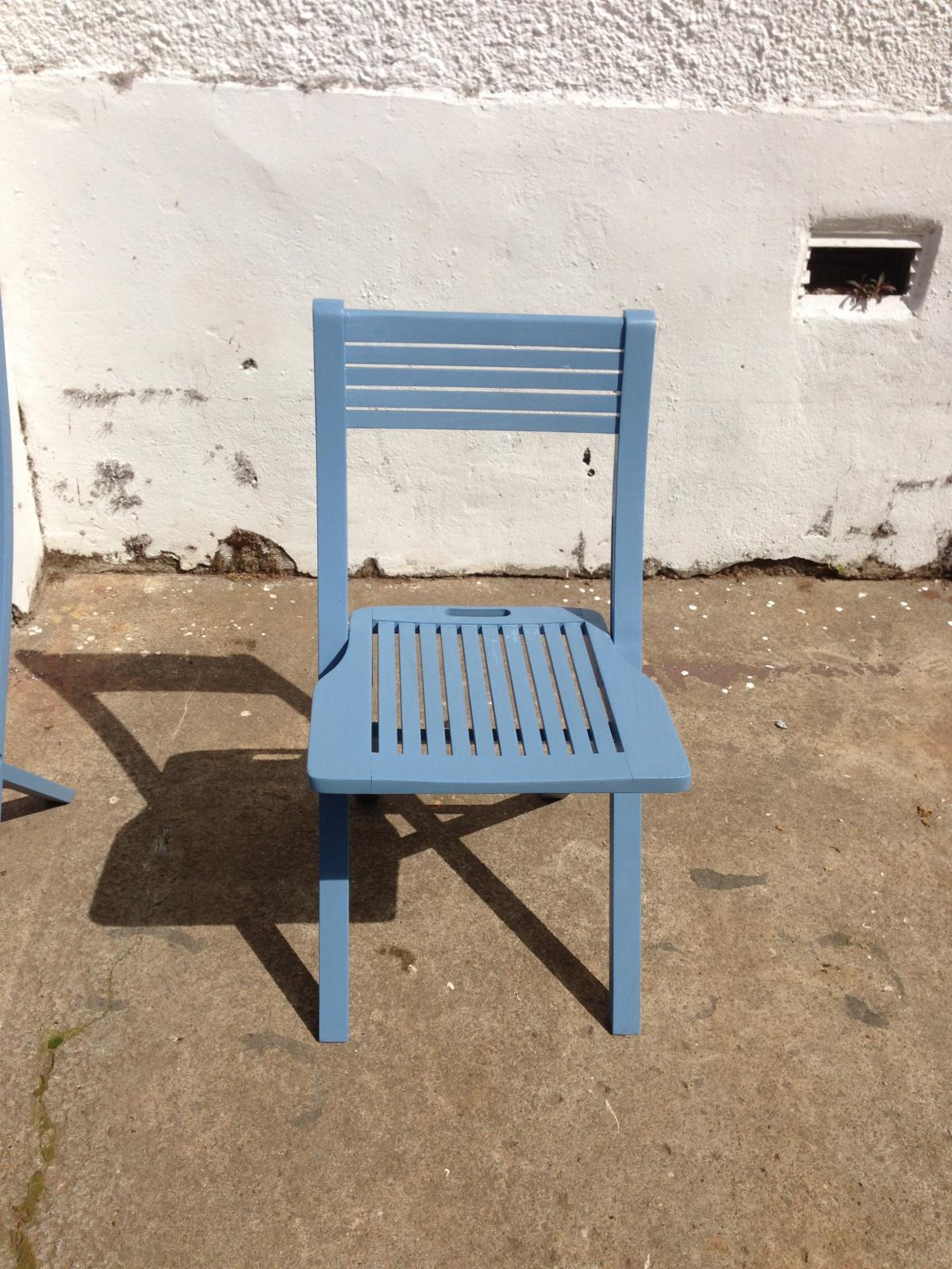 Garden Table and Chais renovation