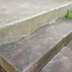 Step re-concreted